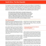 South Africa: The Next Republic