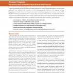Princes' Progress: Reconstruction and authority in Eritrea and Rwanda