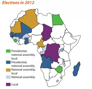 Elections in Africa_2012