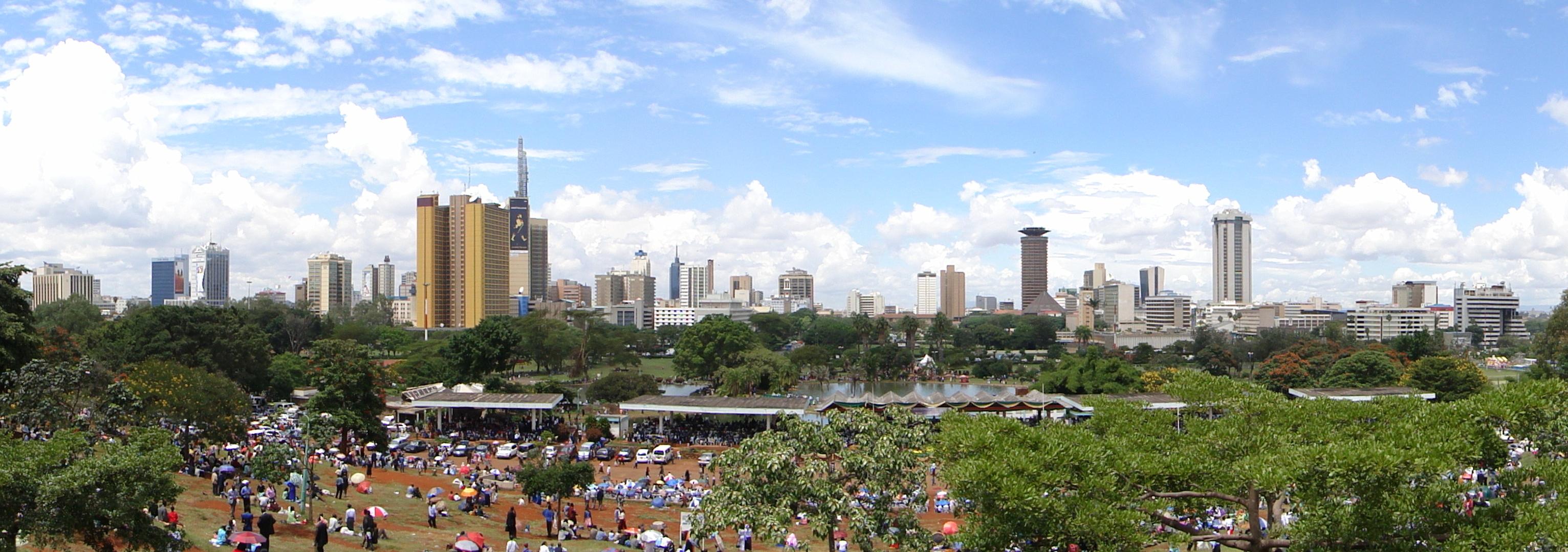 Nairobi pano