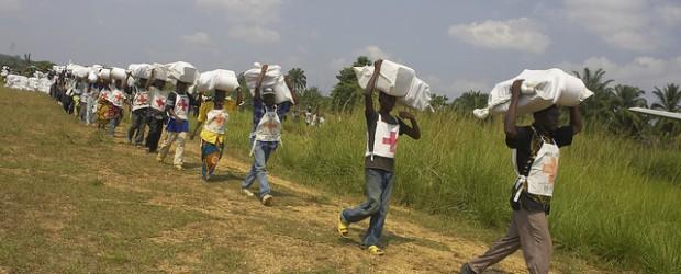 Food distribution, DR Congo