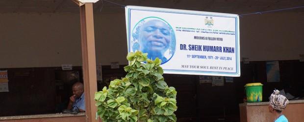 Ebola Sierra Leone Africa Research Institute Dr Khan virologist