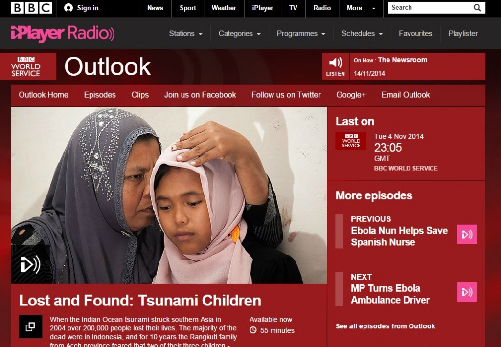Chidara on BBC Outlook World Service