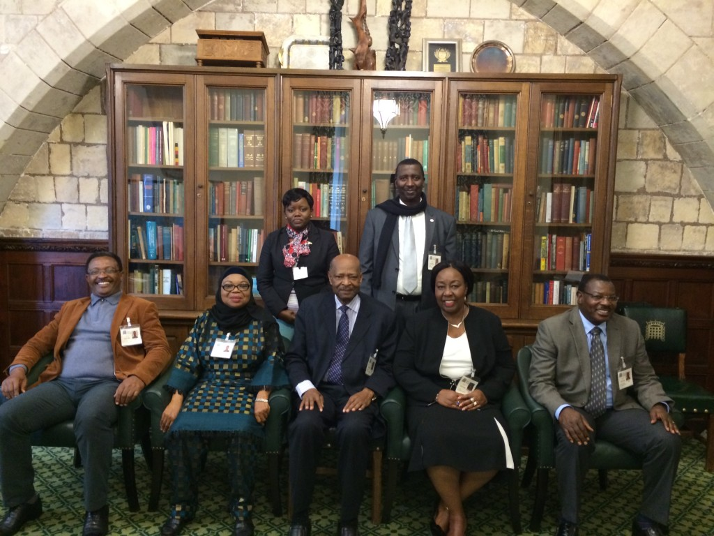 Delegation of Tanzanian MPs on a visit to London organised by the CPA; Rachael Cox