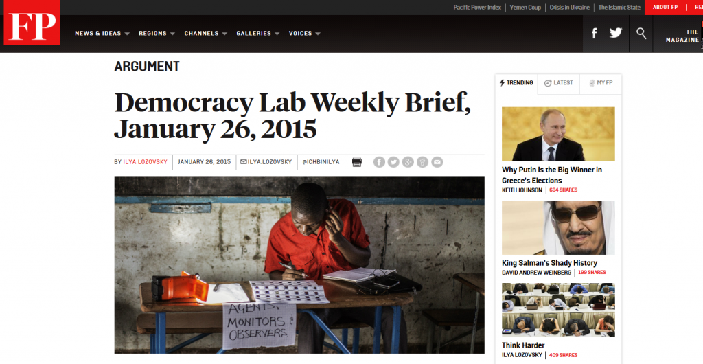 Foreign Policy's Democracy Lab features Africa Research Insitute's new publication 'Africa Debt Rising' by Paul Adams
