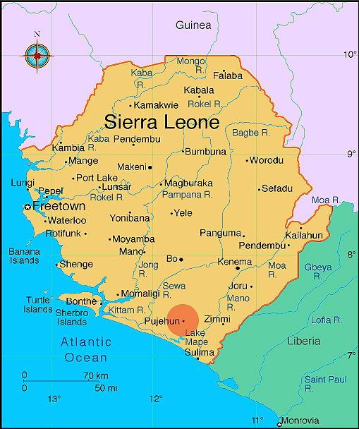 SierraLeoneMap Africa Research Institute - Sierra leone map