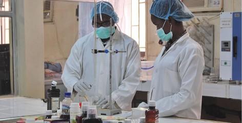 Paxherbals laboratory workers