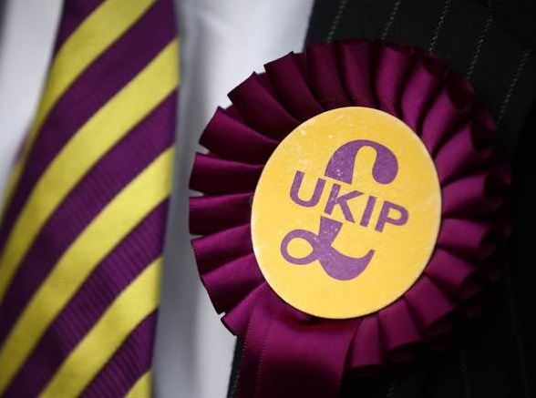 UKIP candidate sacked for threatening to shoot his Tory opponent.