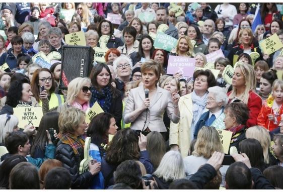 "9 million women – more than 25% of the adult female population – didn't vote in 2010. ""This election battle is run by men, for men… Women are all but invisible""."