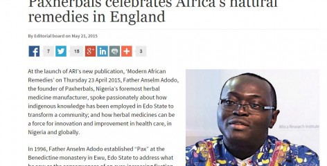 The Guardian features Anselm Adodo, founder of Paxherbals, who we collaborated with on our latest Policy Voice publication
