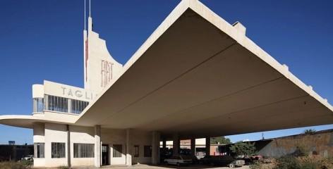 Edward Denison Fiat Tagliero building in Asmara Eritrea
