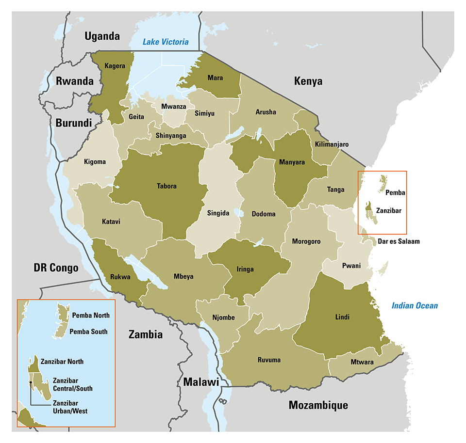 Tanzania-All-Regions-Detail-Map-01