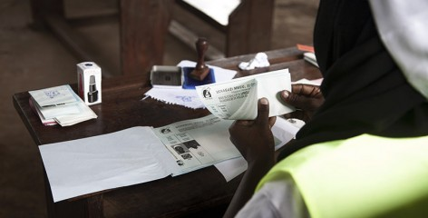 Ania Gruca photograph of Tanzania elections