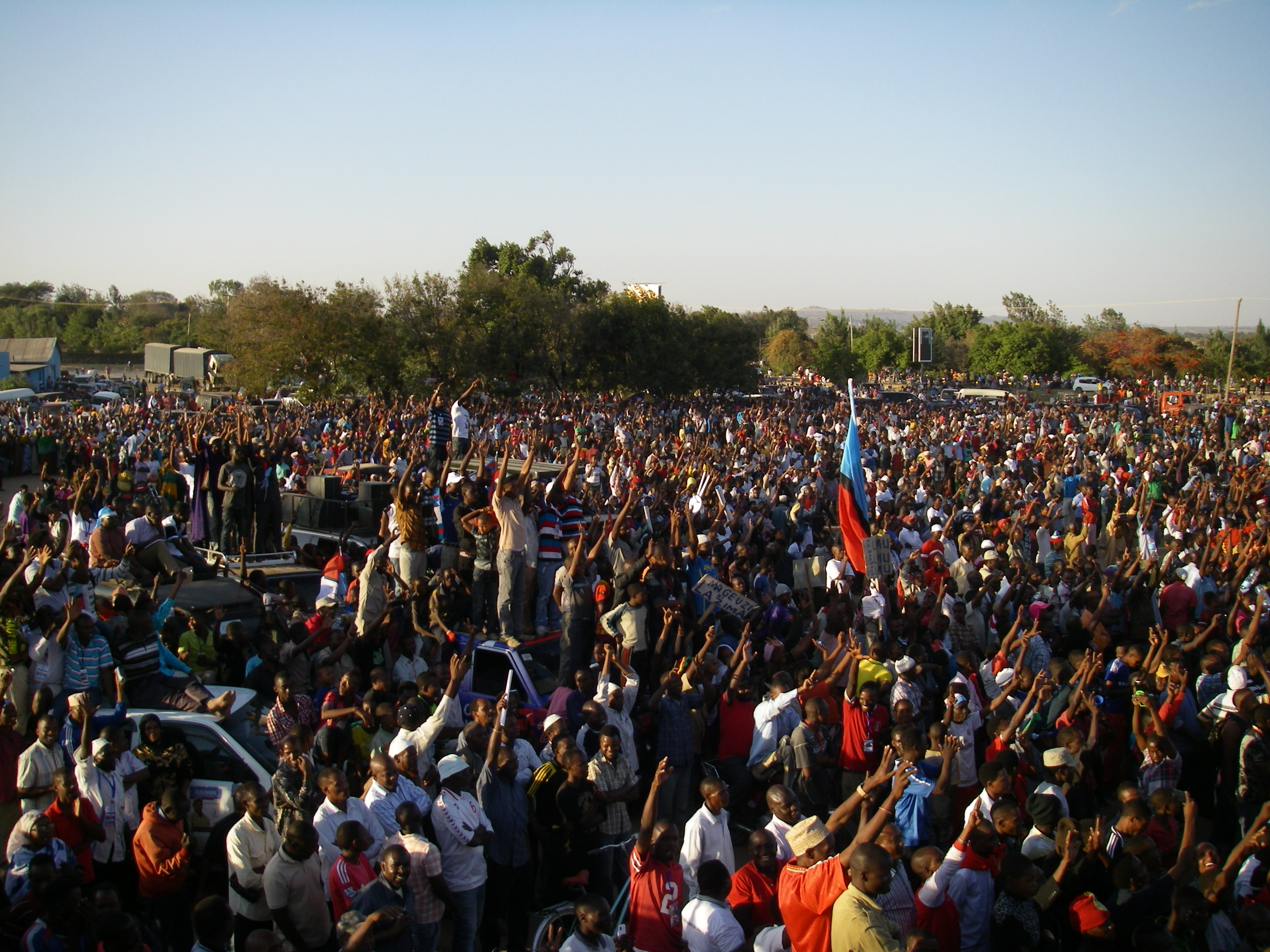 Lowassa rally by Michaela Collord