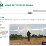 Good Governance Africa, 01 December 2015