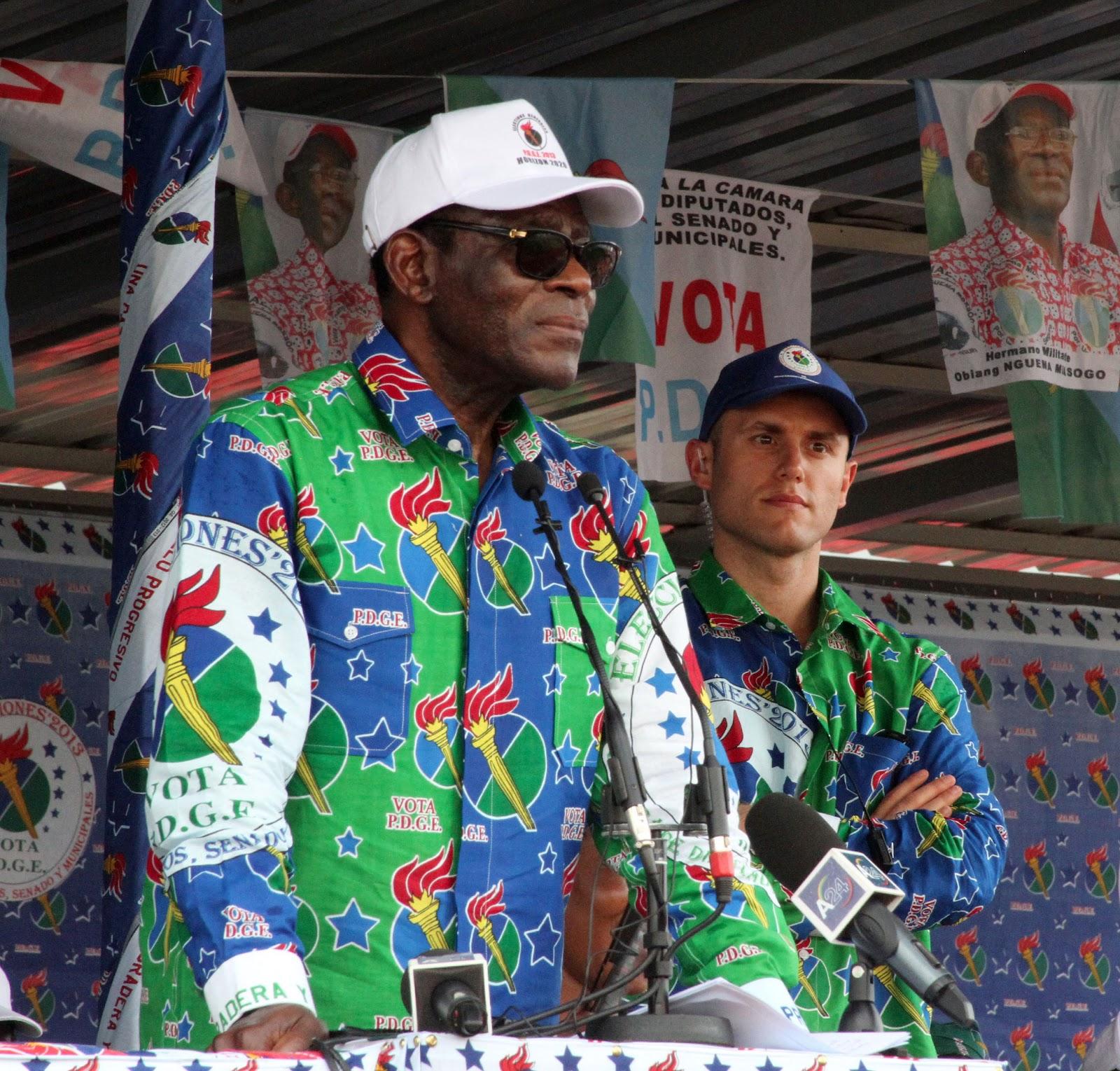 Coup Spain: Equatorial Guinea