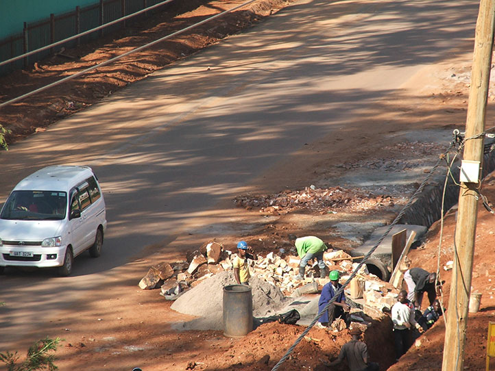Roadworks in Namugongo (Photo Credit: Uganda Insider)