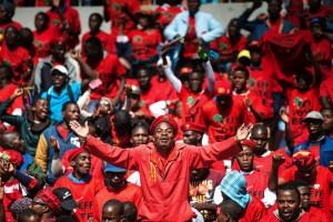 South African radical leftist - afp
