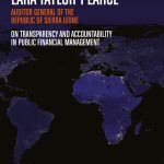 Lara Taylor-Pearce on transparency and accountability  in public financial management